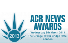 ACR News Awards March 6-2013. London, Uk