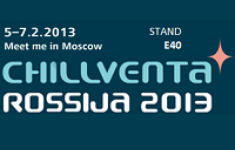 Chillventa Rossija 2013 invites all experts of the R&HVAC