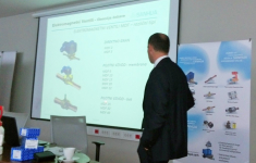 Sanhua held presentation at ETIS day in Slovenia, March 24th.