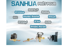 Sanhua acepta el reto de los nuevos refrigerantes de bajo PCA