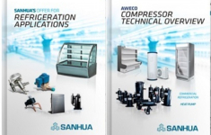 New SANHUA brochures