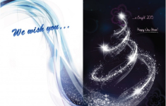 We wish you happy holiday and a bright 2015