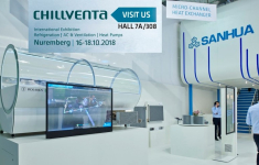 Chillventa 2018: Sanhua mit neuen Kältemittel-Lösungen