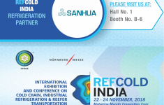 REFCOLD INDIA - Sanhua is the refrigeration partner