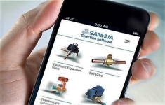 Updated SANHUA Selection Tool as App for mobile devices
