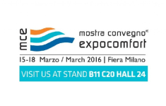 Visit us at MCE - MOSTRA CONVEGNO EXPOCOMFORT