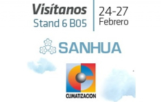 Visit Sanhua at Climatizacion 2015 and don't miss newest technology
