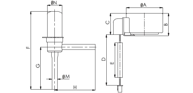 Electronic Expansion Valve R Series . Flow characteristic