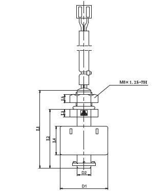 Level Switch YKG (A) Series . Dimensions