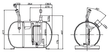 Pressure Vessel Y Series . Technical parameters.