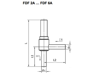Solenoid Valve FDF Normally Close Series . FDF2A with FDF2A65 as the standard Product