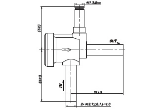 Solenoid Valve FDF Normally Close Series . FDF11A with FDF11A05 as the standard Product
