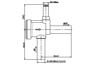 Solenoid Valve FDF Normally Close Series . FDF13A with FDF13A07 as the standard Product